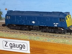 Class 24 Late / Class 25 Early - Z - 1:220 in Smooth Fine Detail Plastic