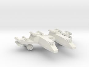 3788 Scale Lyran PF/Gunboat Tender CVN in White Natural Versatile Plastic