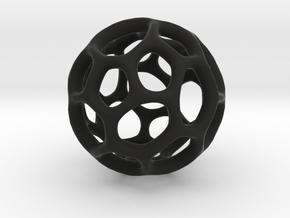Gaia-30 (from $12) in Black Premium Versatile Plastic