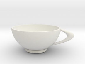 CircleCup A in White Natural Versatile Plastic: Medium