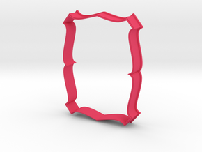 Plate 24 cookie cutter for professional in Pink Processed Versatile Plastic