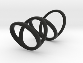 Ring for Bob L1 7-8 L2 1 3-8 D1 6 1-4 D2 6 3-4 D3  in Black Premium Strong & Flexible