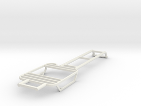 Rear lights protector left with ladder D90 1/2 in White Natural Versatile Plastic