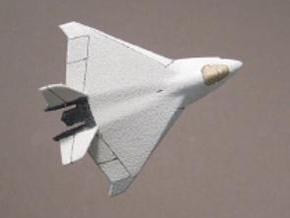 1/285 X-32 JSF in White Natural Versatile Plastic