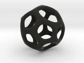 Gaia-18 (from $18.90) in Black Premium Versatile Plastic