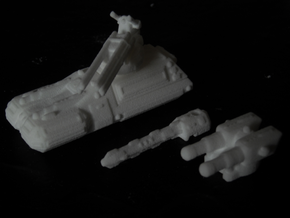 MG144-HE002C Turma Multirole Vehicle (Medium Tank) in White Natural Versatile Plastic