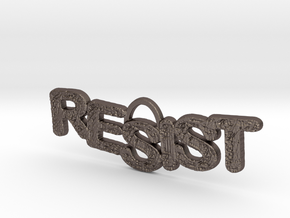 RESIST Pendant in Stainless Steel
