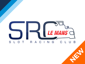 1/32 SRC Le Mans LMP1 Chassis in Blue Strong & Flexible Polished