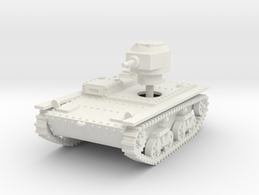 1/56 (28mm) T-38 light tank in White Natural Versatile Plastic