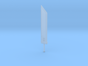 4.2 cm Buster CLoud in Smooth Fine Detail Plastic