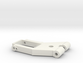 Arm2-7mmVERSION2 in White Natural Versatile Plastic