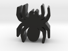 Game Piece, Spider in Black Natural Versatile Plastic
