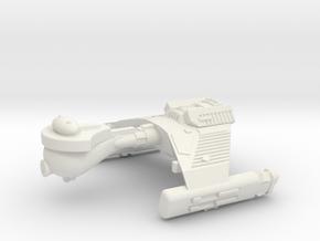 3788 Scale Klingon F5K Refitted Frigate WEM in White Natural Versatile Plastic