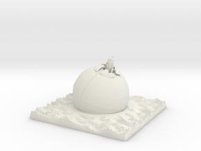 Ion Cannon  in White Natural Versatile Plastic