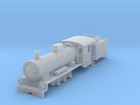 0m DONJ loco #12 in Smooth Fine Detail Plastic: 1:45