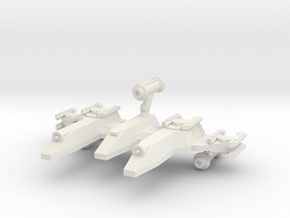 3788 Scale Lyran War PF/Gunboat Tender CVN in White Natural Versatile Plastic