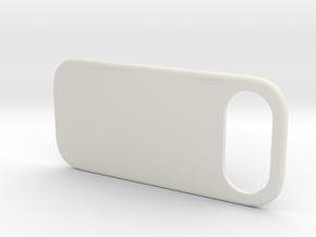 MINIMALPAD minimal bumper protector for iPhone X in White Premium Versatile Plastic