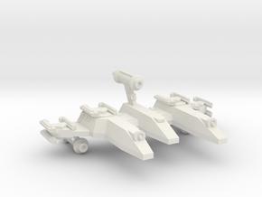 3125 Scale LDR War PF/Gunboat Tender CVN in White Natural Versatile Plastic