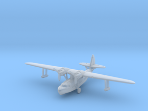 Sikorsky S-43 1/285 & 1/288 scale with u/c down in Smooth Fine Detail Plastic: 6mm