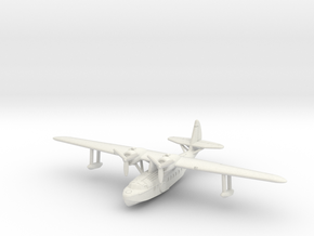 Sikorsky S-43 1/285 & 1/288 scale with u/c up in White Natural Versatile Plastic: 6mm