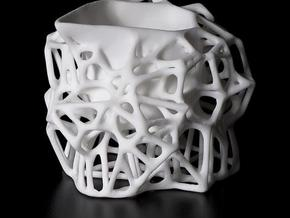 Voronoi Creamer in White Strong & Flexible