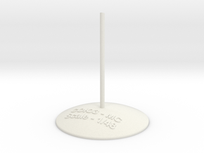 Soyuz stand -1.48 in White Natural Versatile Plastic