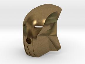 Kanohi Matatu (without eye-lens) in Raw Bronze