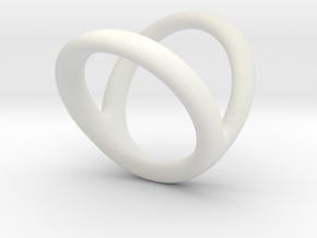 Ring 6 for fergacookie D1 1 D2 2 Len 17 in White Premium Strong & Flexible
