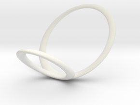 ring 8 for fergacookie_w in White Premium Strong & Flexible