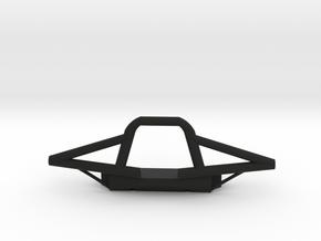 Tubular RC Winch Bumper in Black Natural Versatile Plastic