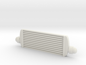 RC car intercooler in White Natural Versatile Plastic