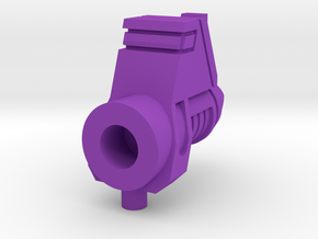 Galvatron Cannon Pt 1 in Purple Processed Versatile Plastic