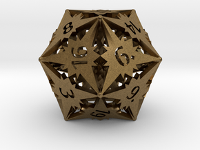 D20 Balanced - Starlight in Natural Bronze
