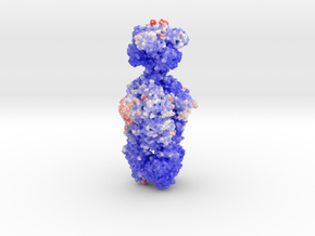 Putative Tailspike Protein of a Bacteriophage (Vol in Glossy Full Color Sandstone: Medium