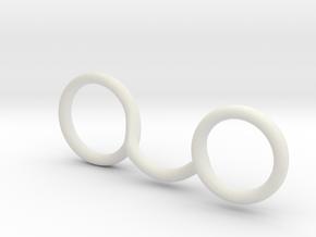 RIng splint for megan  in White Premium Strong & Flexible