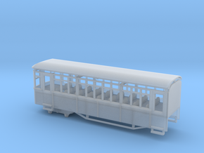 009 Sentinel Railcar Long Coach in Smooth Fine Detail Plastic