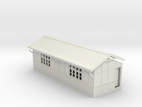 "LM79 Beeston Tor ""Barn"" in White Natural Versatile Plastic"