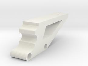 Mavic Pro Tablet Mount v4 bottom-left in White Natural Versatile Plastic