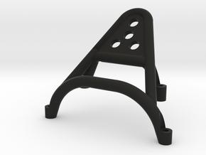 RR10 Axial Bomber, Front Stinger Bumper - No Winch in Black Premium Versatile Plastic