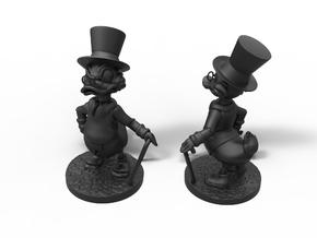 Scrooge mcduck in Smooth Fine Detail Plastic