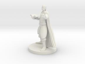 Half Elf Magic Caster in White Premium Versatile Plastic