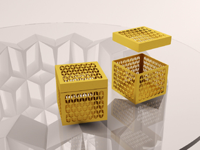YOUNIVERSAL Jewels Box  in White Natural Versatile Plastic