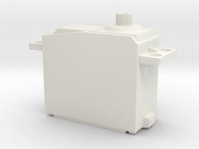 "Futaba S3003 ""Dummy"" Servo in White Natural Versatile Plastic"