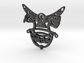 Romulan Child's Talisman in Polished and Bronzed Black Steel
