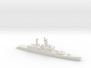 Brahmaputra-class frigate, 1/2400 in White Natural Versatile Plastic