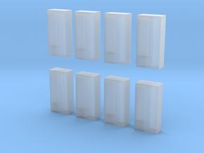 8xFeuerwehrspind new version in Smooth Fine Detail Plastic