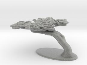 Squiggle Tree in Metallic Plastic