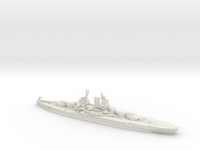 USS New Mexico 1/600 in White Natural Versatile Plastic