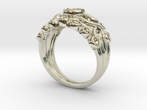 Multi stone ring NO STONES SUPPLIED in 14k White Gold