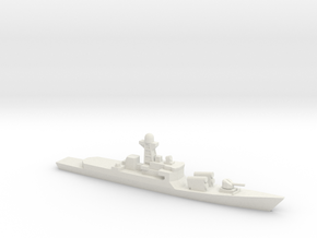 Khukri-class corvette, 1/1250 in White Natural Versatile Plastic